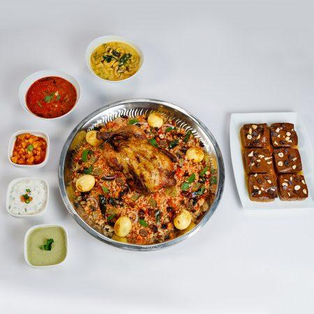 Indian Mutton Biriyani Sawan for 6