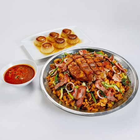 Sri Lankan - Pork Bacon Koththu Sawan
