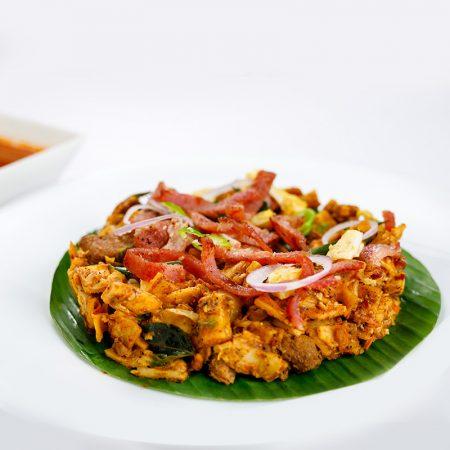 Sri Lankan - Pork Bacon Koththu