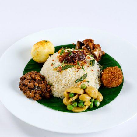 Sri Lankan - Vegetarian Lamprais